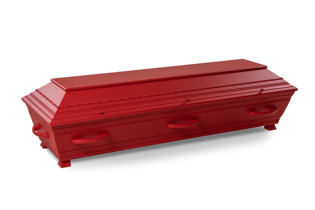 SIBI kiste rød perle